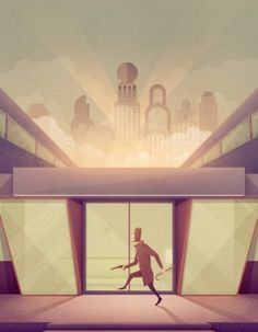 Geometric Illustration by Justin Mezzell » ISO50 Blog – The Blog of Scott Hansen (Tycho / ISO50) #illustration