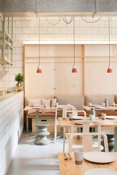 Ruyi Dumpling & Wine Bar by Hecker Guthrie, Melbourne | Yellowtrace #interior #wood #restaurant