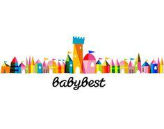 Baby Best brand identity design #illustration #logo #color