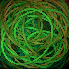 Luciano de Liberato - abstract artwork in green #artwork #painting #art #green