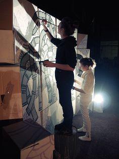 Live drawing by Nastya KFKS. #art #exhibition #nastyakfks #kfks #black #animals #mural #livedrawing #art #streetart #urbanart #artist