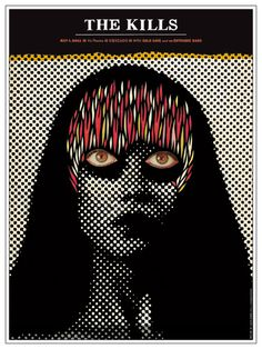GigPosters.com - Kills, The - Cold Cave - Entrance Band, The #poster #young monster #gigposter #the kills #zach hobbs