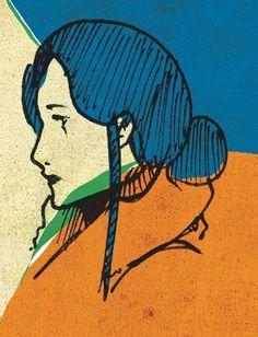 3244093362_4c71cbd07f.jpg 331 × 433 pixels #woman #girl #sketch #illustration #lady