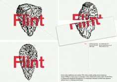 Flint | Bibliothèque Design #identity #branding