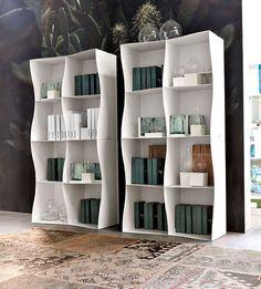 Iron-ic Metal Bookcase by Ronda Design - #design,#furniture,#modernfurniture, design, furniture
