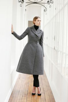 #coat #grey #garment #fashion