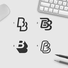 BB monogram.