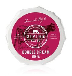 Divine Dairy | Packaging of the World: Creative Package Design Archive and Gallery #packaging #design #cheese