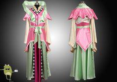 Magi Labyrinth of Magic Kougyoku Ren Cosplay Costume + Wig #kougyoku #costume #ren #cosplay