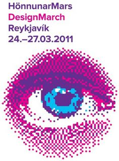 Isländischer Außenwirtschaftsrat - Aktuelles - Design March - March 24-27, 2011 #atelier #festival #atli #pink #eye #siggi #identity #and #blue #eggertsson #hilmarsson