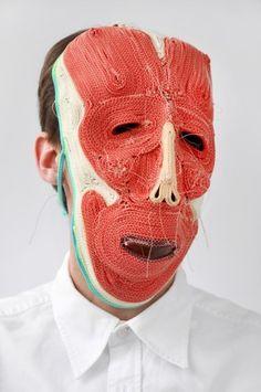 Mask series via Baubauhaus.