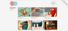 Webdesign Gallery 019 Â« Tutorialstorage | Photoshop tutorials and Graphic Design #portfolio #website #grid #system #layout