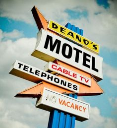 Merde! - typenovel: Deano's Motel by Shakes The Clown on... #typography