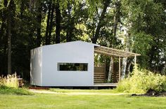 Swedish Wooden Cabin by Jonas Wagell and Sommarnojen #cabin