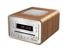 Sonoro Cubo walnut ($200-500) — Svpply #wood #svpply #clock