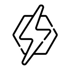 See more icon inspiration related to thunder, light, shapes and symbols, light bolt, electronics, lighting, electricity and energy on Flaticon.