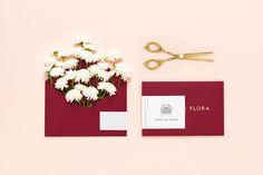 Terra de Flora by Param branding design corporate identity pink new modern style best cool minimal graphic designer mindsparkle mag www.min