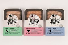 Abe Froman's Sausage The Dieline #packaging #sausages #pig