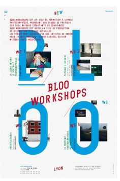Bloo WS : bureau-205 #shop #design #french #poster #type