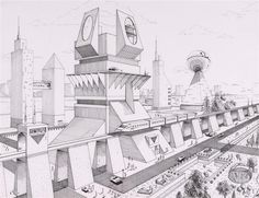 #architecture #drawing