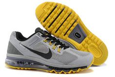 Nike Air Max 2013 LAF Wolf Grey Black Cool Grey Varsity Maize Mens Shoes #shoes