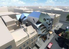 33-35 Hoxton Square - Architecture - Zaha Hadid Architects #architecture