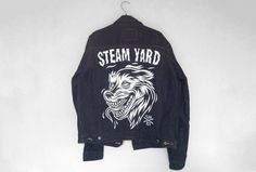 Steam Yard #jacket #tom #denim #edwin #newell