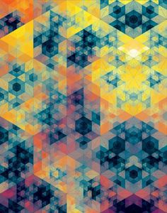 It's Nice That : Andy Gilmore's painstakingly created geometric patterns are beautifully hypnotic