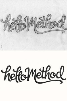 Method by Claire Coullon #inspiration #creative #lettered #personalized #design #illustration #logo #hand