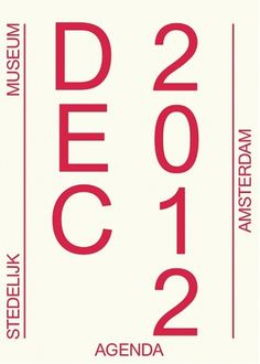 Creative Review - A clear break with the past #stedelijk #typography #poster #museum