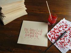 IMG_0555.JPG (image) #calligraphy #hand #writing #invitation
