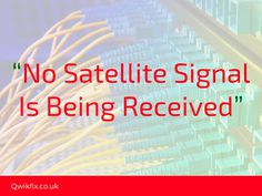 How To Fix #SkyTV #No_Satellite_Signal Is Being Received #Error25 Or 29 Problem ?