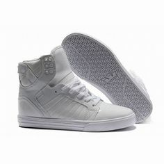 mens supra skytop white leather sakte shoes #shoes