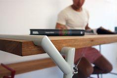 Atlas by Psalt Design #design #minimalism #desk #minimal #minimalist