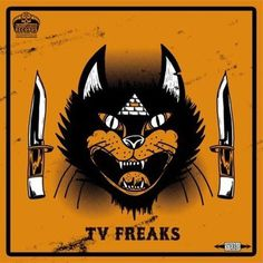 LP cover art #album #punk #cover #lp #freaks #art #tv