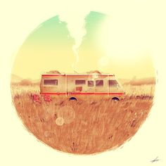 Bb #rv #illustration #breaking #bad