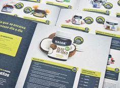 Naiak Alimentos Funcionais | fullDesign Comunicação Integrada | Agência de publicidade e propaganda em Brasília - DF #print #infographic #medicine #food #natural #nature #description #green