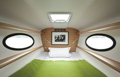 Yacht with minimalist captain cabin #super #adastra #yacht #modern