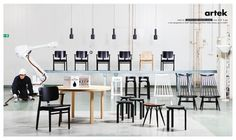 Artek: White robbot | Ads of the World™ #advertisement #furniture #finland #artek