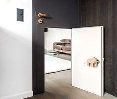 Child\'s Door Within A Door by Studio Karnhard