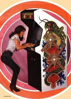 Blogs | Lifelounge #1980s #circles #centipede #video games