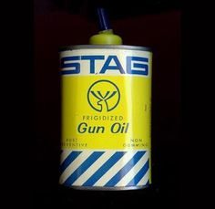 Stag Gun Oil.