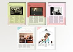 Design Work by Tim Saputo #spreads #magazine