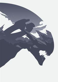 Alien Movie Poster by Yoav Caballero