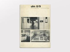 ulm 8/9 Journal of the Hochschule für Gestaltung, September 1963 via www.thisisdisplay.org