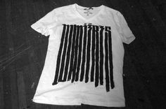 Greg Ponchak — form (shop) #greg #white #ponchak #tshirt #black #shirt #handmade #type #typography