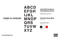 COMME des GARCONS #comme #font #garcons #des