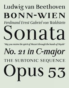 Waldstein by Lars Bergquist #font #modern #serif #fountain #type #typography