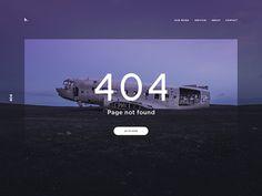 404 page #404 #u i#web #clean
