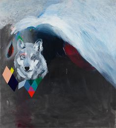 Wolf #painting #color #art #wolf